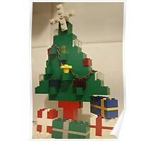 Lego Tree Poster