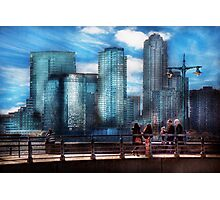 New York - City - Hudson River Park - Downtown Photographic Print