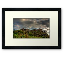 The top of the Rock Framed Print