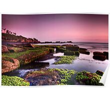 Mengening Beach Sunset - Bali Poster