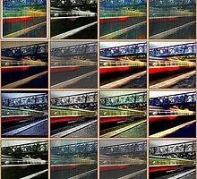 Train palette  by Victoria Martin