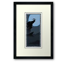 Two Trees - Rocky 3 Framed Print