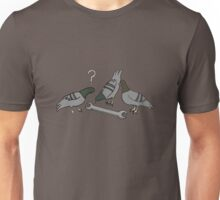 A spanner among the pigeons? Unisex T-Shirt