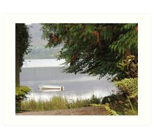 Donegal Peace  Lough Eske- Donegal Ireland Art Print