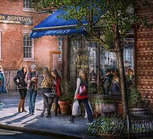 New York - Store - Greenwich Village - Jefferey's  by Mike  Savad