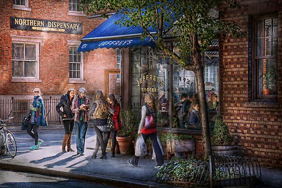 New York - Store - Greenwich Village - Jefferey's  by Mike  Savad