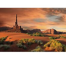 The Totem Pole Photographic Print