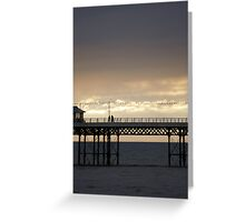 cromer pier Greeting Card
