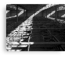 Dandenong Stockyards Canvas Print