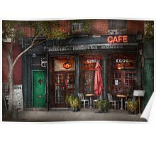 New York - Store - Greenwich Village - Sweet Life Cafe Poster