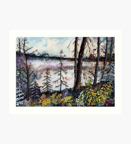 Northern Forest Tundra Art Print