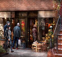 New York - Store - Greenwich Village - The gift shop  by Mike  Savad
