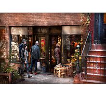 New York - Store - Greenwich Village - The gift shop  Photographic Print
