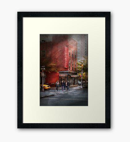 New York - Store - The old delicatessen Framed Print