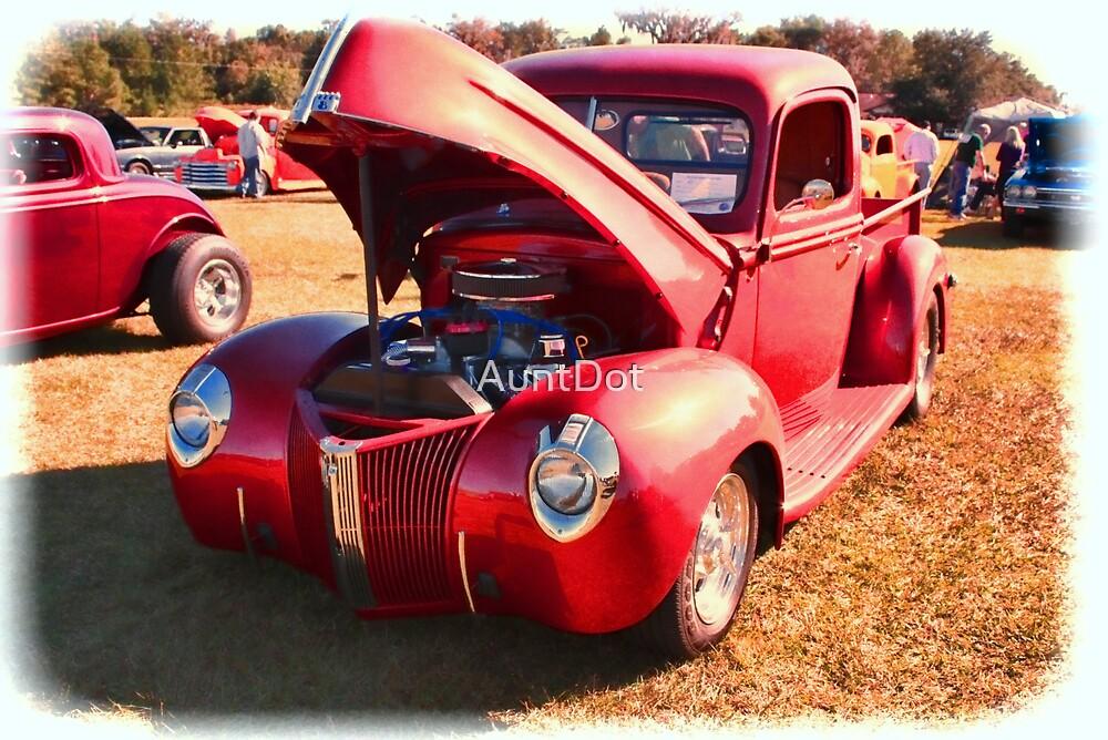 Little Red Truck by AuntDot