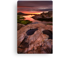 Sunset Dells Canvas Print