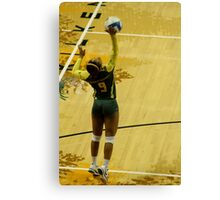 Serving Match Point Canvas Print