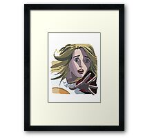Claire Bennet Painting Framed Print