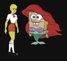 Little Merbob Maidpants One Piece - Long Sleeve