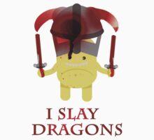I Slay Dragons! Kids Clothes