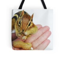 """Here's looking at you! ..."" Tote Bag"