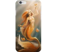 Golden Mermaid iPhone Case/Skin