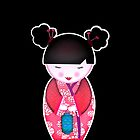 Pink Kokeshi by cerio