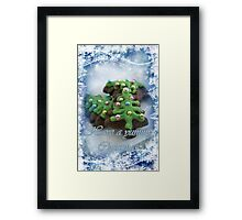 Yummy Christmas Framed Print