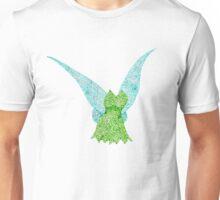 Tinkerbell Pointillism Unisex T-Shirt