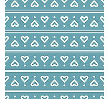 The pattern in the hearts Photographic Print