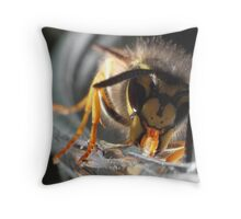 Mutant Wasp 3 Throw Pillow