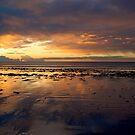 Sunrise on Long Sands Beach by Jeannette Sheehy