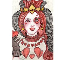 Daughter Of The Queen Of Hearts Photographic Print