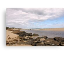 Mouth of the Margaret River  Canvas Print