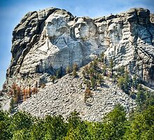 Mount Rushmore HDR by trussphoto