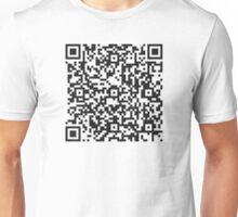 QR Code Quote - Technological progress Unisex T-Shirt