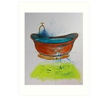 Copper Bath Art Print
