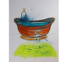 Copper Bath Photographic Print