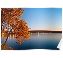A Morning In Fall Poster