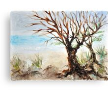 View to ocean in front of me? Canvas Print