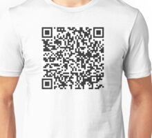 QR Code Quote - Generation Of Idiots Unisex T-Shirt