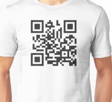 QR Code Quote - Get A Life! Unisex T-Shirt