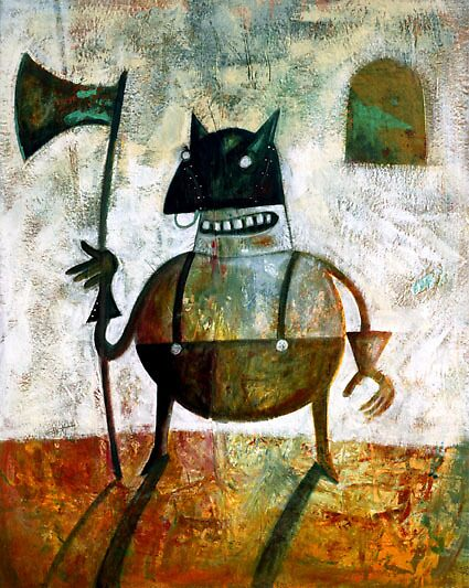 The executioner by Neil Elliott