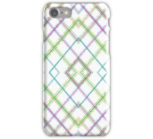 Funky Plaid iPhone Case/Skin
