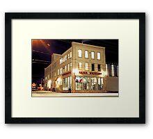 Brick Brewery, Waterloo, Ontario Framed Print