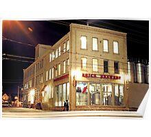 Brick Brewery, Waterloo, Ontario Poster