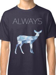 Harry Potter Always geometric doe patronus Classic T-Shirt