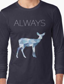 Harry Potter Always geometric doe patronus Long Sleeve T-Shirt