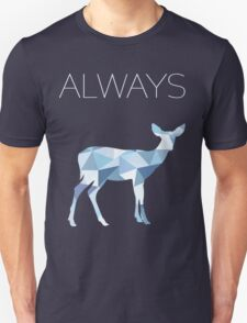 Harry Potter Always geometric doe patronus T-Shirt