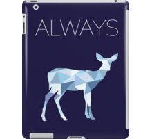 Harry Potter Always geometric doe patronus iPad Case/Skin